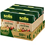 SOLIS Tomate Frito Con Aceite de Oliva Brick- Pack de 6 x 400g - Tomate sin gluten