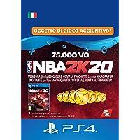 NBA 2K20 - 75,000 VC [Codice download per PSN - Account italiano]