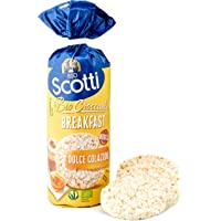 Riso Scotti - Risette Breakfast - Gallette di Riso Senza Glutine Bio, Alimento Biologico per la Colazione - Confezione…