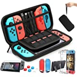 HEYSTOP Accesorio Compatible con Nintendo Switch Funda Compatible con Nintendo Switch Funda de Transporte para Nintendo Switc
