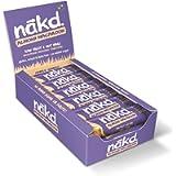 Nakd Almond Macaroon Natural Fruit & Nut Bars - Vegan - Gluten Free - Healthy Snack, 35 g (Pack of 18)