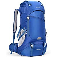 HOMIEE Hiking Backpack 50L, Waterproof Hiking Rucksack with Rain Cover, Labor Saving Breathable Lightweight Outdoor…