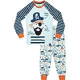 Harry Bear Pijamas de Manga Larga para niños Piratas Ajuste Ceñido