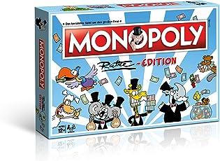 Winning Moves 45144 Monopoly Ruthe Edition Brettspiel im Cartoon-Style für die Ganze Familie Gesellschaftsspiel