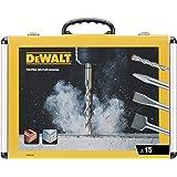 DeWalt DT9679 (beitel en boorset 15-delig SDS-plus, 4 x platte beitel, 1 x puntbeitel, 10 x SDS plus high-performance boor, i