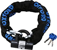 Oxford Producten OF159 1.5m Heavy Duty Chain Lock met Disc Lock