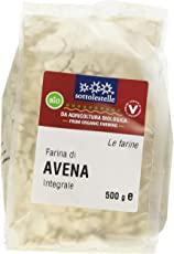 Sottolestelle Farina di Avena Integrale - 6 confezioni da 500gr - Totale 3 kg