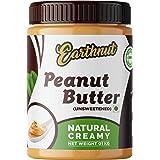 Earthnut Natural Peanut Butter Creamy 1 KG (Unsweetened / Gluten Free / Non-GMO / Vegan)