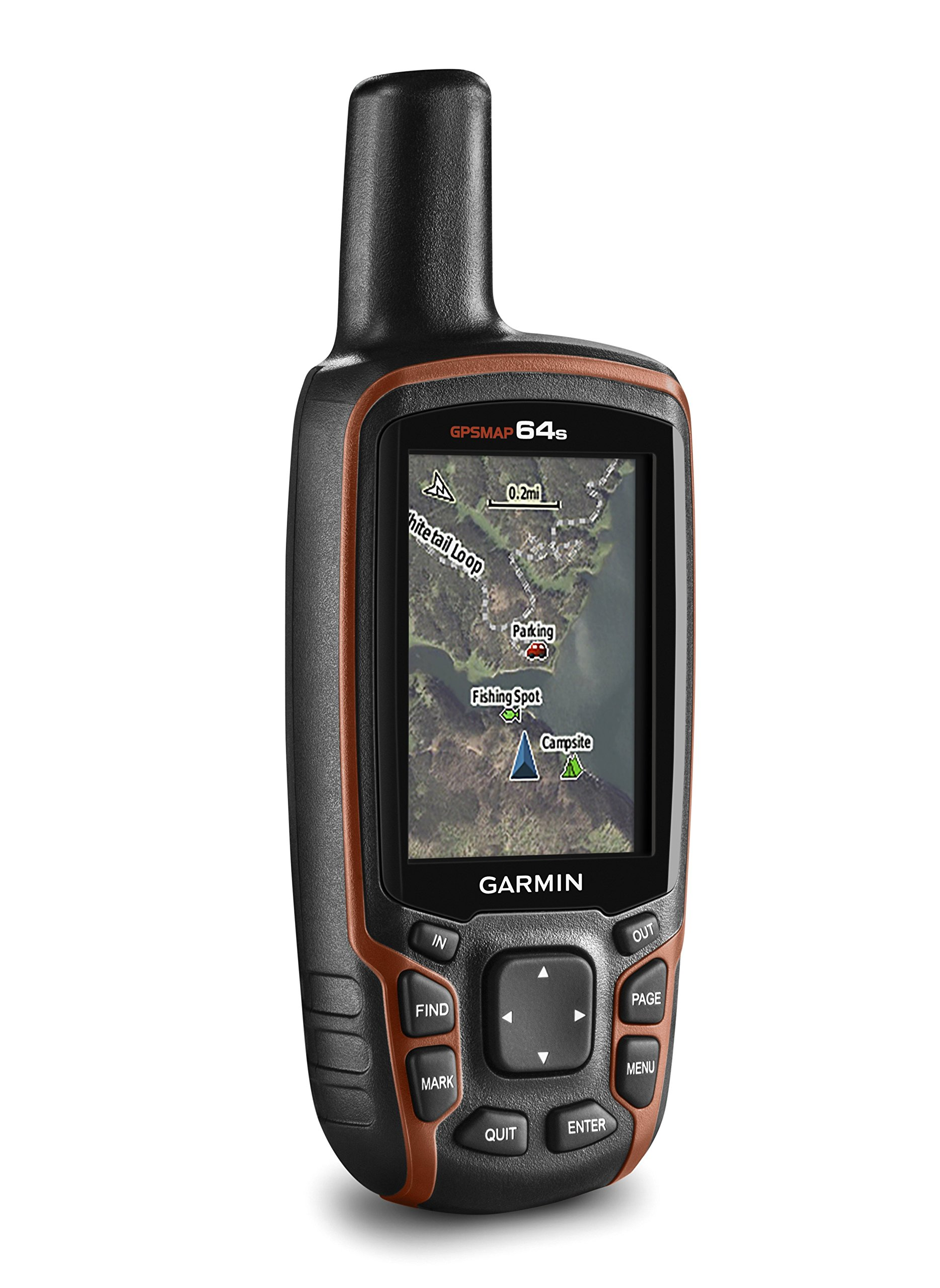 Garmin GPSMAP 64s Handheld Navigator,Black/Red 2
