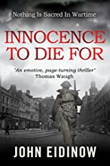 Innocence To Die For (Peter Hill Book 1) Kindle Edition