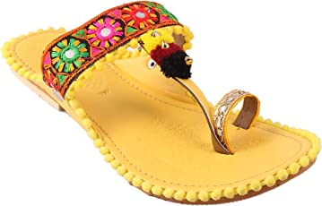 Shree Women's Ethnic Kolhapuri Fashion Slipper