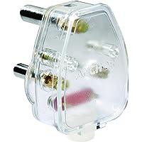 Smart Anchor Plastic 3 Pin 6A Plug Top (White)