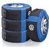 Volkswagen, 000073900E, däckväskuppsättning, kompletta hjul, (upp till 21 tum), däckfälg
