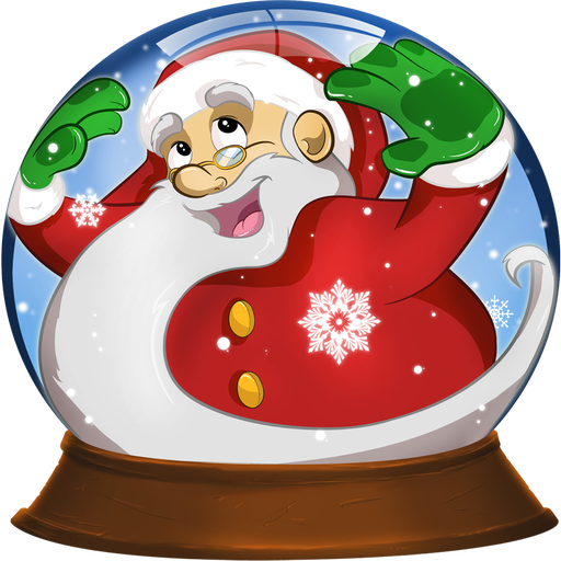 Boule neige de no l pour enfants appstore pour android - Boule de noel en anglais ...