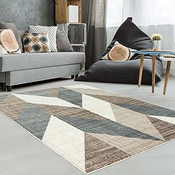 Teppich Modern Designer Wohnzimmer Schlafzimmer Lufer Inspiration Way Vintage Pastell Braun Grsse In Cm