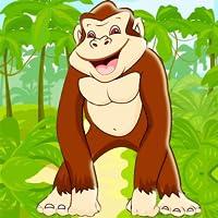 Gorilla-Lauf 2 Dschungel Spiel