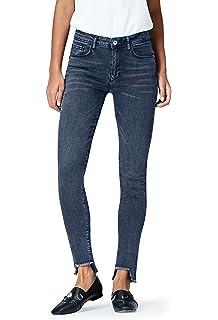 Amazon Marke: find. Damen Skinny Jeans, Braun (Khaki), 36W