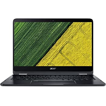 Acer Spin 7 SP714-51 14-inch Laptop (7th Gen Intel Core i7-7Y75/8GB/256GB/Windows 10/Intel HD Graphics 615), Black