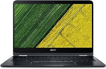Acer Spin 7 SP714-51 14-inch Laptop (7th Gen Intel Core i7-7Y75/8GB/256GB/Windows 10/Intel HD Graphics 615), Black