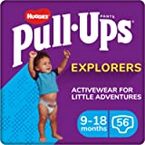 Huggies Nappy Pants Size 4, Size 5, Pull-Ups Explorers Boys, 9-18 Months, 56 Count, Pull Up Nappies, Disney Cars