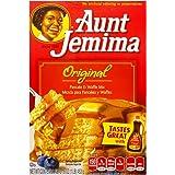 Aunt Jemima Pancake & waffle mix original preparato per Pancake