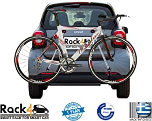 2 Fahrräder Rack Für Smart Fortwo 453 Cabrio Coupe Schwarz Auto