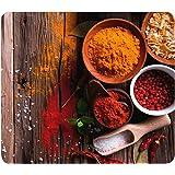 WENKO Crédence de cuisine en verre Epices - Protège-plaque pour plaques de cuisson vitrocéramiques et induction, planche à dé