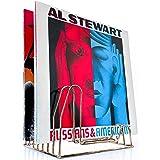 draadwerk Support pour 35 disques vinyles - Support pour 35 disques - Support LP - Support pour prospectus - Support en vinyl