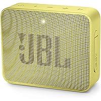 JBL GO 2 Mini Enceinte Portable - Étanche pour Piscine & Plage IPX7 - Autonomie 5hrs - Qualité Audio, Bluetooth, Jaune
