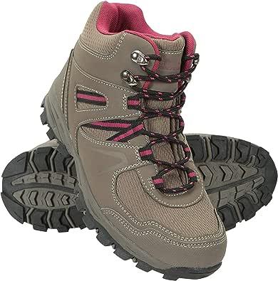 Mountain Warehouse Stivali Comodi da Donna McLeod - Stivali alla Caviglia Traspiranti, Stivali da Trekking robusti, Scarpe da Passeggio Leggere Imbottite - da Viaggio