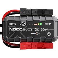 NOCO Boost X GBX75 2500A 12V UltraSafe Lithium Booster Batterie Voiture, Chargeur Power Bank USB-C et Câbles de…