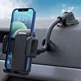 Mpow Porta Cellulare Auto, Supporto Cellulare Auto per Parabrezza e Cruscotto con Forte Ventosa e Lungo Braccio per iPhone 12