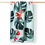 YOGALABS® Premium Mikrofaser Strandtuch | schnelltrocknend & leicht | Badetuch, Yoga-Handtuch, Reise-Handtuch | aus 100% nach