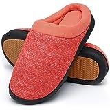 Mishansha Uomo Pantofole da Casa Donna Caldo Comode Antiscivolo Inverno Ciabatte, Gr.36-46 EU