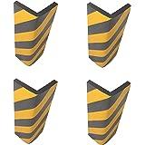SNS SAFETY LTD Zelfklevende Hoekbeschermingsprofiel Schuimstof, voor Parkeerplaatsen, Garages en Magazijnen, 44 x 25 x 2 cm,