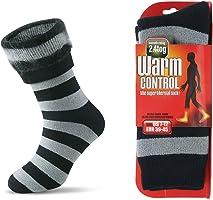 JARSEEN Herren Warme Winter Dicke Thermosocken mit Vollplüsch und Wolle Stiefel Socken