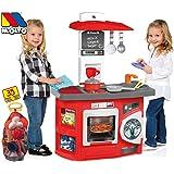 JT-Lizenzen Molto Spielküche Kinderküche Kitchen mit 35-TLG. Zubehör