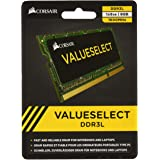 Corsair CMSO8GX3M1C1600C11 Value Select 8GB (1x8GB) DDR3 1600Mhz CL11 Mémoire RAM Noir