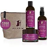 Pilgrim Rakhi Special Extra-Glow Skin Care Gift Kit with Free Jute Bag   De-Pigmentation, Pore Tightening   Face Wash 100ml,