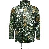 Mossy Oak Mens Recon Waterproof Camouflage Jacket - MO627