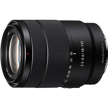 Sony SEL-18135 Zoom Objektiv (18-135 mm, F3.5-5.6, OSS, APS-C, geeignet für A7, A6000, A5100, A5000 und Nex Serien, E-Mount) schwarz