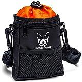 Hundefreund Läckageväska för hundar   Liten foderpåse för träning med hunden och för godsaker   4 bärvarianter med 4 fack (14