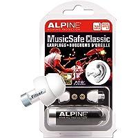 Alpine MusicSafe Klassische Ohrstöpsel- Werte dein Musikerlebnis auf ohne Hörschäden zu riskieren - Drei austauschbare Filtersets - Bequemes hypoallergenes Material - Wiederverwendbare Ohrstöpsel