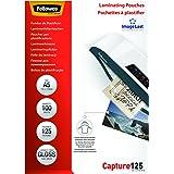Fellowes 5307302 Pochettes de plastification A5 125 microns par 100