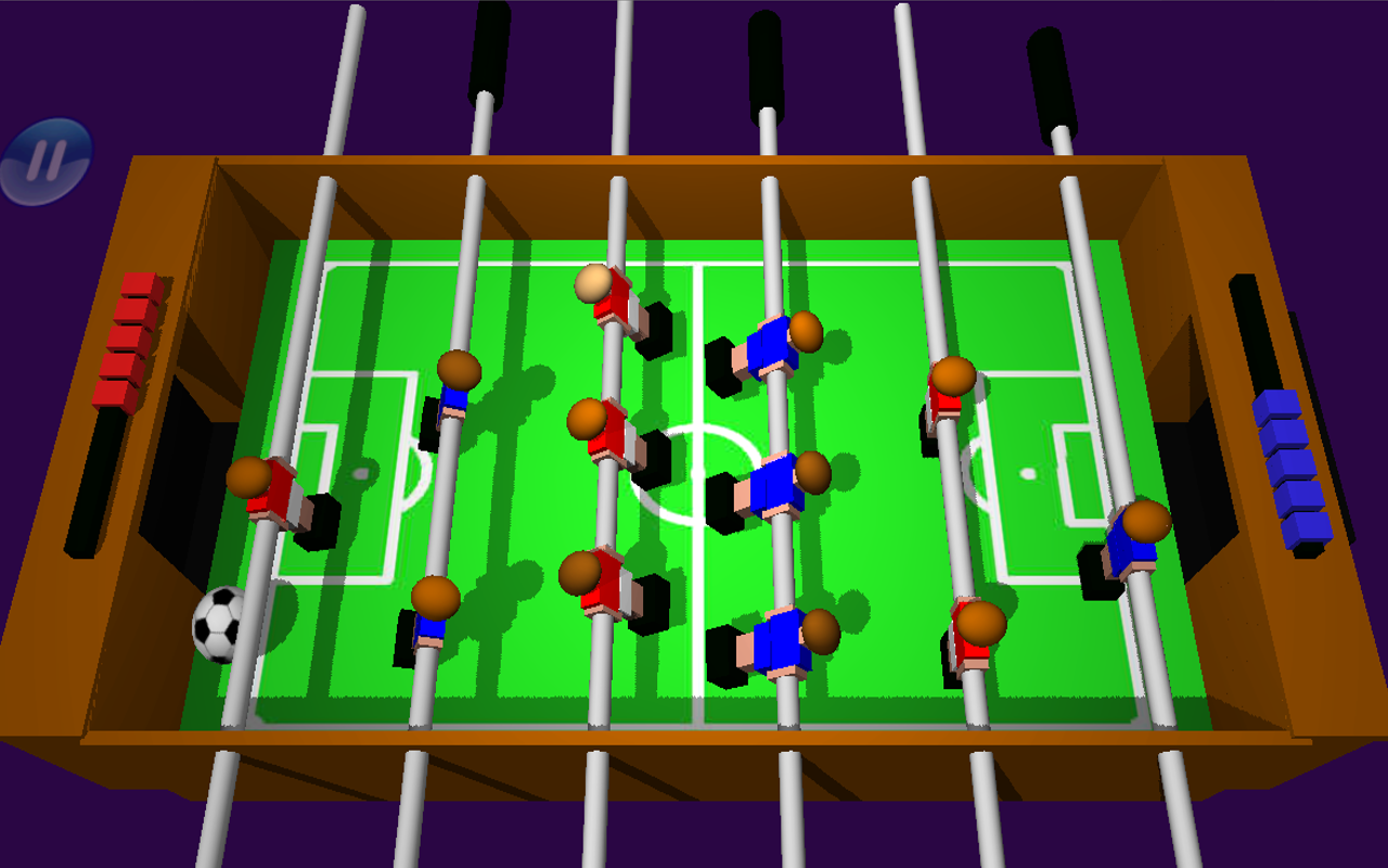 Surprising Table Football Soccer Foosball 3D Download Free Architecture Designs Embacsunscenecom