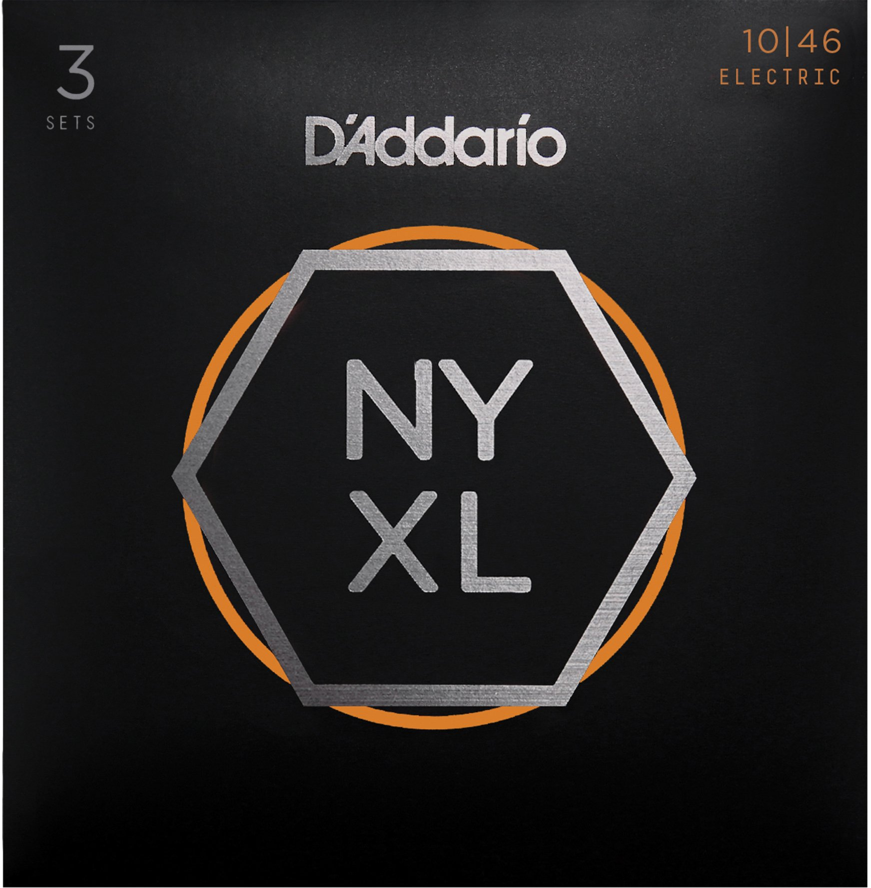 D' Addario NYXL1046 – 3P nickel Wound – Corde per chitarra elettrica (Regular Light, 10 – 46, 3 Set)