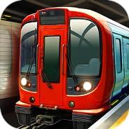 Subway Simulator London - England Underground Train: spiele Zug Simulator, wo du schnelle U Bahn und Metro ren
