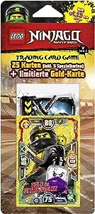 toutes les 4 blister-NEUF Lego Ninjago série 5 Trading Card Game-Tous les 4 Multipack