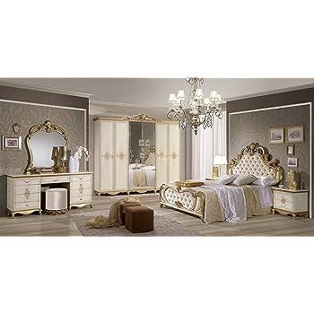 Shirin Schlafzimmer Kombination Barock Design Bett 160x200 Cm