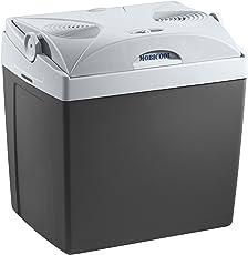 Mobicool V26, tragbare thermo-elektrische Kühlbox, 25 Liter, 12 V und 230 V für Auto, Lkw und Steckdose, Grau, Energieklasse A++